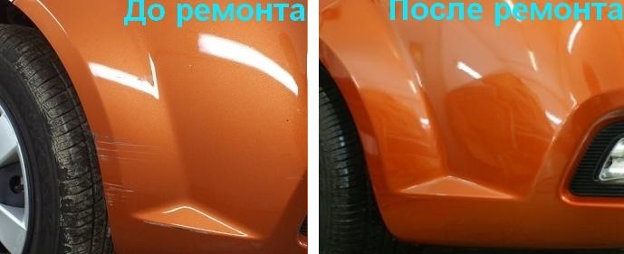 Покраска царапин на автомобиле своими руками карандашом