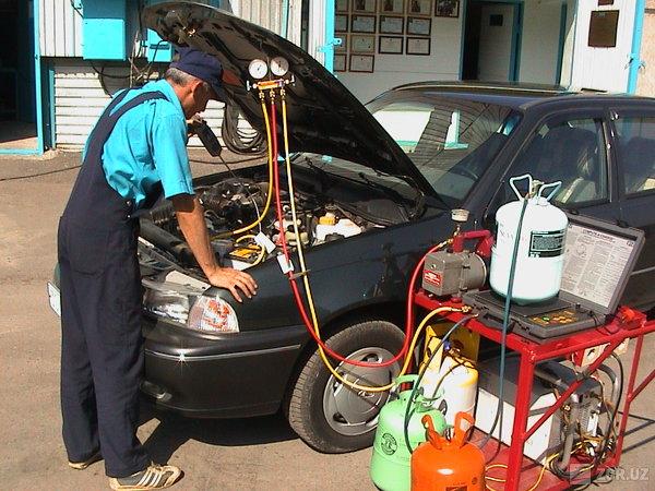 Профессиональное обслуживание , заправка и ремонт автокондиционеров
